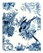 Bird & Branch in Indigo I
