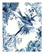 Bird & Branch in Indigo II