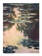 Waterlilies with Weeping Willows, 1907