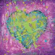 Emotions Green Heart