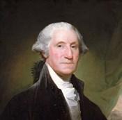 George Washington, 1795 -Detail