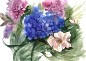 Watercolor Garden II