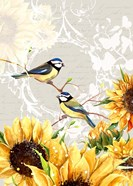 Sunflower Birds II