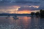 Dusk On Lake Champlain