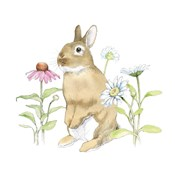 Wildflower Bunnies IV