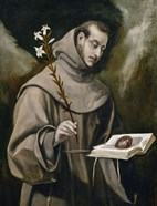 Saint Anthony of Padua, 1577-79