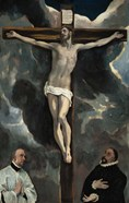 Crucifixion with Two Donors