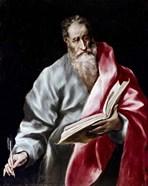 Apostle Saint Matthew, 1602-05