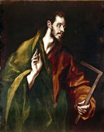 Apostle Saint Thomas, 1602-05