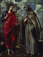 Saints John and Francis of Assisi c. 1600