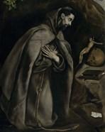 Saint Francis in Prayer Before a Crucifix, c. 1590