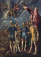 Martyrdom of St Maurice and the Theban Legion, c 1580-1852