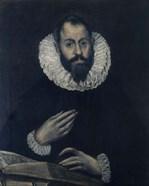 Portrait of Alonso de Herrera 1595-1605