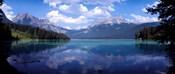 Emerald Lake Reflections, Alberta, Canada