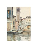 A Bridge and Campanile, Venice, 1902/04