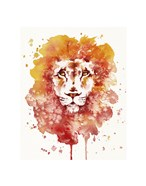 Pride (Watercolor Lion)