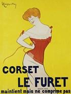 Corset le Furet, 1901