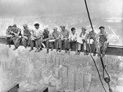 New York Construction Workers Lunching on a Crossbeam, 1932