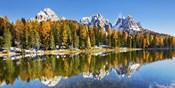 Lago Antorno and Misurina, Dolomites, Italy