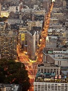 Aerial View of Flatiron Building, NYC