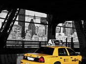 Taxi on the Queensboro Bridge, NYC