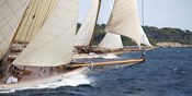 Vintage Sailboats Racing