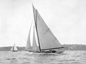 Victorian sloop on Sydney Harbour, 1930