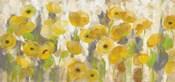 Floating Yellow Flowers I