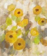 Floating Yellow Flowers III