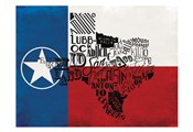 Rustic Texas Flag