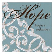 Crackle Filigree Hope