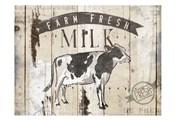 Farm Fresh Milk Horizontal