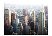 Hazy NYC Skyline