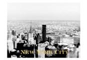 NYC Skyline Gold