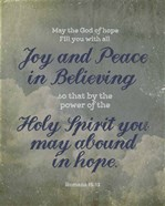 Romans 15:13 Abound in Hope (Clouds)