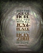 Romans 15:13 Abound in Hope (Forest)