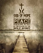 Romans 15:13 Abound in Hope (Sepia)
