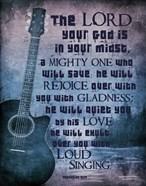 Zephaniah 3:17 The Lord Your God (Guitar)