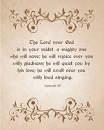 Zephaniah 3:17 The Lord Your God (Brown)