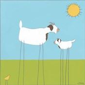 Stick-leg Goat I