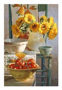 Sunflowers & Tomatoes