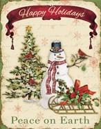 Happy Holidays - Snowman