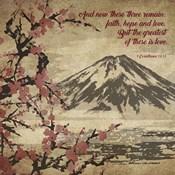 1 Corinthians 13:13 Faith, Hope and Love (Japanese)