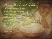 John 6:35 I am the Bread of Life (Grapes)