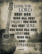 Mark 12:30 Love the Lord Your God (Guitar)