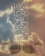 Mark 12:30 Love the Lord Your God (Sky)