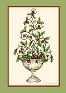 Holly Tree Topiary