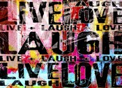 Live Love Laugh Landscape
