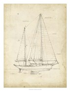 Sailboat Blueprint VI