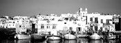 Boats at the waterfront, Paros, Greece